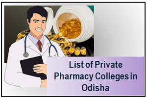 Private Pharmacy Colleges in Odisha