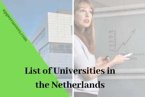 A listing of universities in the Netherlands