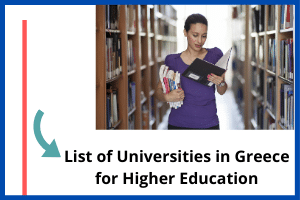 Featured image for List of Universities in Greece