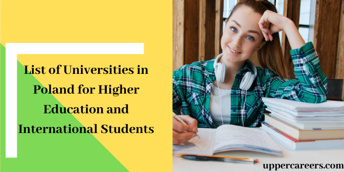 List of Universities in Poland for Higher Education and International Students
